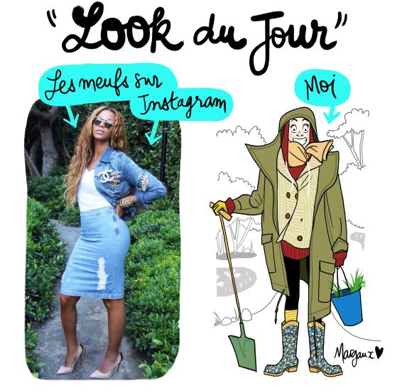 Look du jour bd